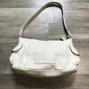FOSSIL Shoulder Bag Winter White Leather Ivory